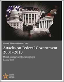 Attacks on U.S. Federal Government 2001–2013: Threat Assessment Considerations